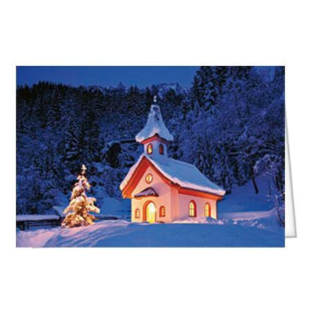 """Motiv 27 """"Weihnachtliche Kapelle"""""""