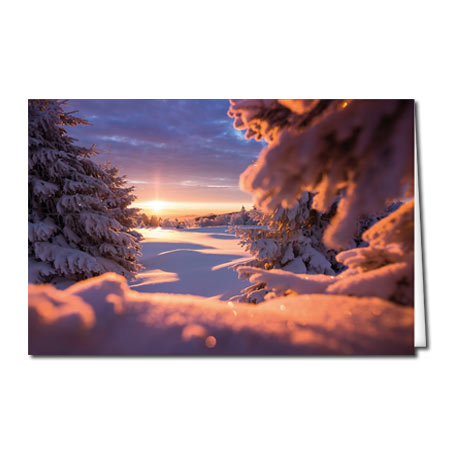 "Motiv 48 ""'Winterlandschaft"""